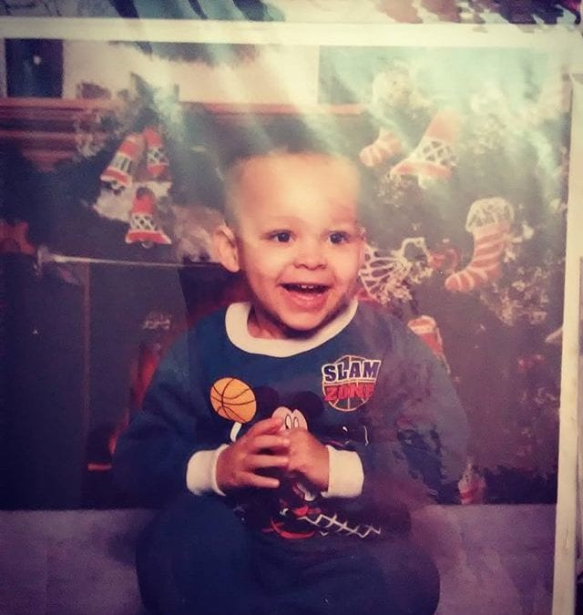 Not Thursday yet but check out this stud lol I was a cute toddler