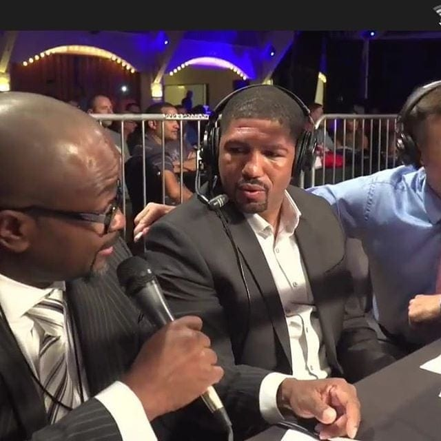 "CEO and founder of Money Round Boxing League, Mr Howard Sanford and Legend and Hall of Famer ""Winky Wright"" talking about the most exciting night for professional Boxing and the incentivized fighting format of MRBL. #moneyroundboxing #winkywright"