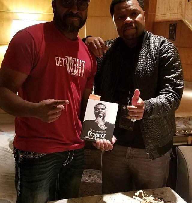 I finally met a brother who has the same work ethic as me. A brilliant man who never stopped swinging in which he defeated all his enemies. Use the master key to unlock the door to success and from one founder/CEO to another, congratulations brother JPrince. #moneyroundboxing #jprincerespect #rapalotrecords #getoboys #hiphop #respect #larryhoover #neverstopswinging #ceomillionaires #blackceo #stealthletic #boxinghype